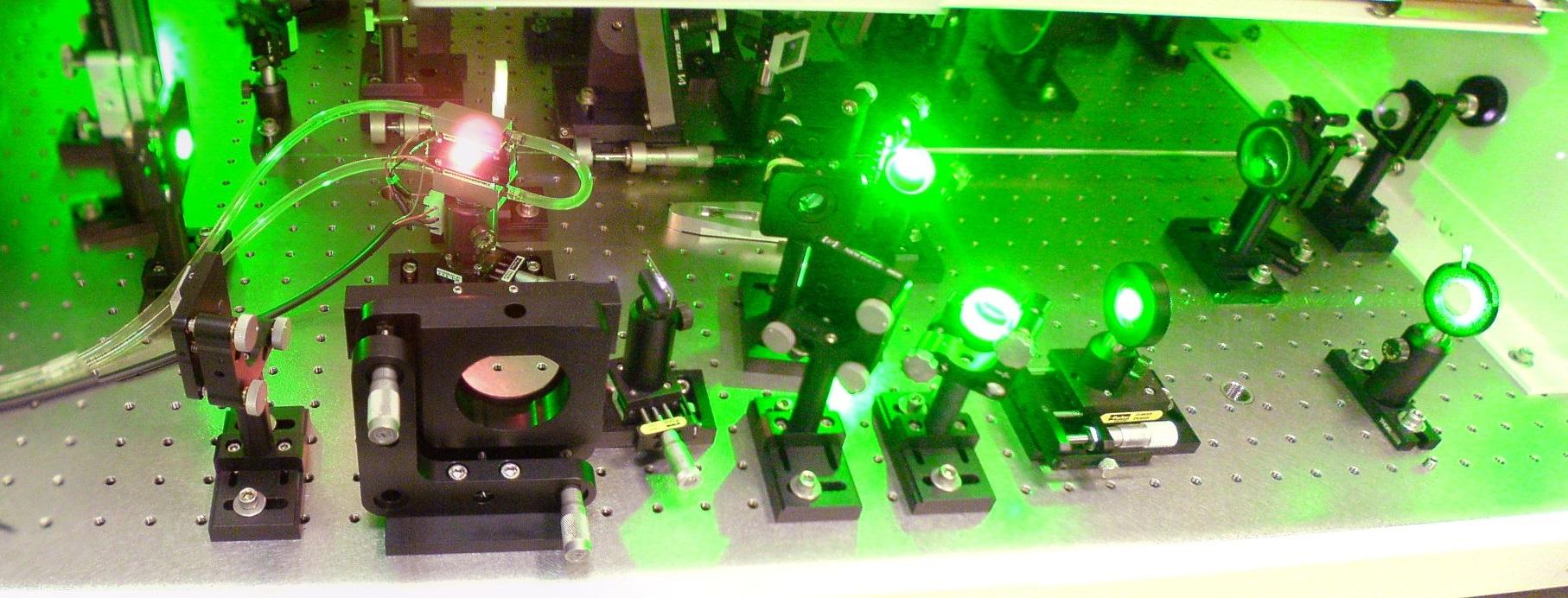 Laser system development