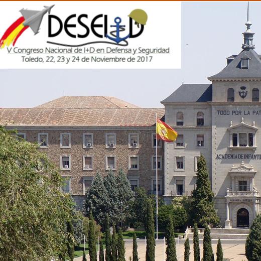 DESEi+D 2017 – V Congreso Nacional de I+D en Defensa y Seguridad