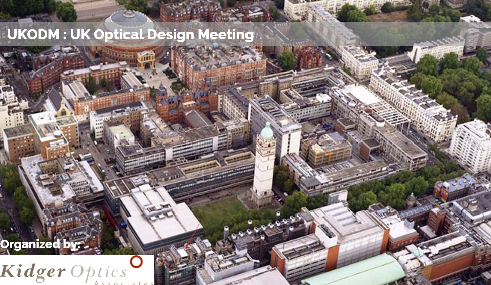 UK Optical Design Meeting