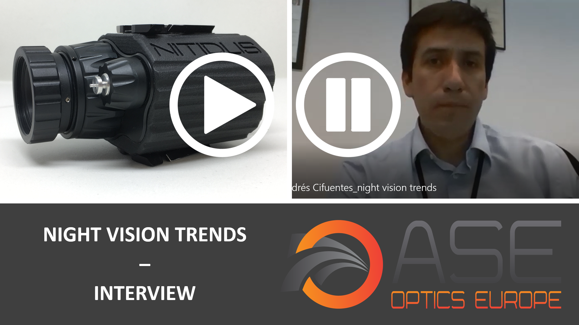 An interview with Andrés Cifuentes (ASE Optics) and Rick Bryant (RPO)